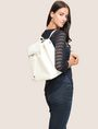 ARMANI EXCHANGE STUDDED FAUX-LEATHER BACKPACK Backpack Woman e