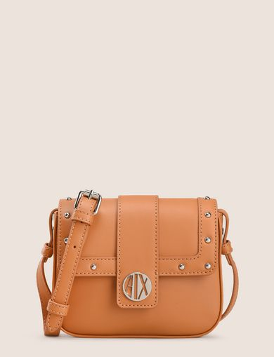 CIRCLE LOGO STUDDED CROSSBODY