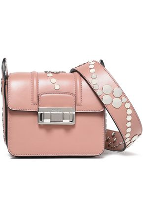 LANVIN Studded leather shoulder bag