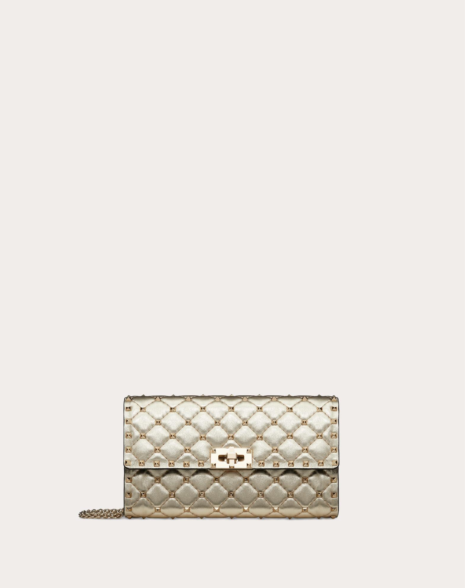 Rockstud Spike Crossbody Clutch Bag