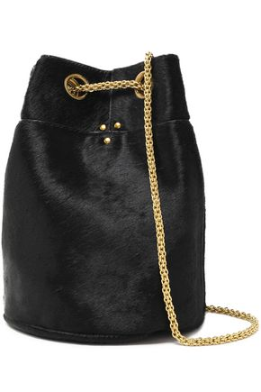 JÉRÔME DREYFUSS Popeye calf hair bucket bag