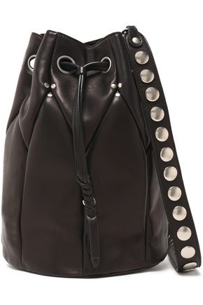 JÉRÔME DREYFUSS Popeye leather bucket bag