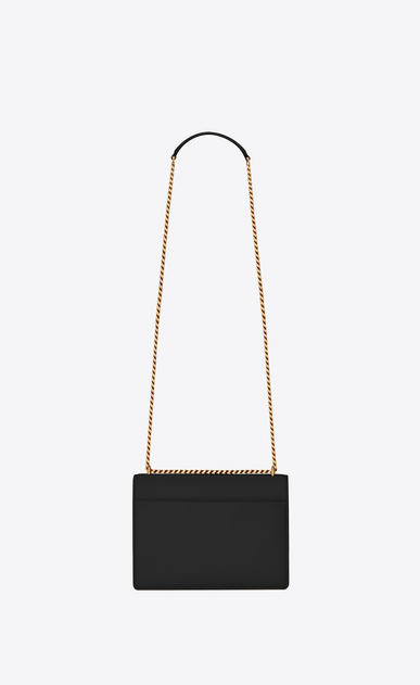 SAINT LAURENT Sunset Woman SUNSET medium in smooth leather b_V4
