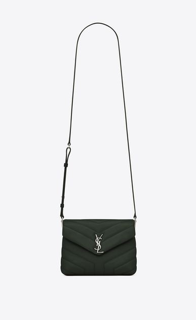 "SAINT LAURENT Mini bags Loulou Woman loulou toy bag in matelassé ""y"" leather a_V4"