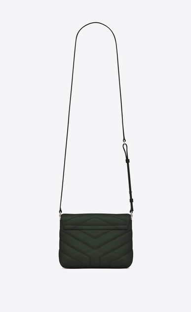 "SAINT LAURENT Mini bags Loulou Woman loulou toy bag in matelassé ""y"" leather b_V4"