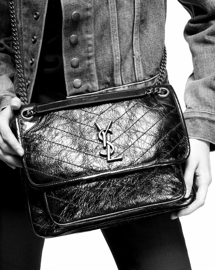 Saint Laurent Niki Medium In Vintage Leather Ysl Com