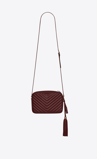 SAINT LAURENT Monogram Lou Damen Lou camera bag in quilted leather b_V4