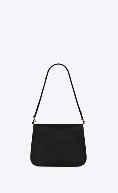 SAINT LAURENT Amalia Woman Amalia satchel in black leather b_V4
