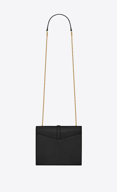 SAINT LAURENT Sulpice Damen Mittlere Sulpice Chain Bag aus schwarzem Leder b_V4