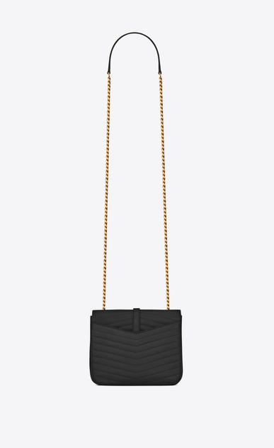 SAINT LAURENT Sulpice Woman Small soft Sulpice chain bag in quilted black leather b_V4