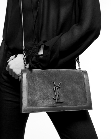 SAINT LAURENT Book bag Woman Black Book Bag - Online exclusive y_V4