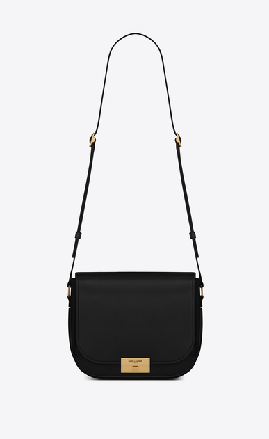 SAINT LAURENT Betty Woman Betty satchel in black leather a_V4