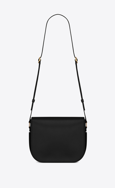 SAINT LAURENT Betty Woman Betty satchel in black leather b_V4