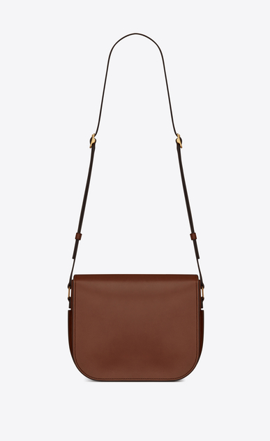 SAINT LAURENT Betty Woman Betty pouch bag in mocha leather b_V4