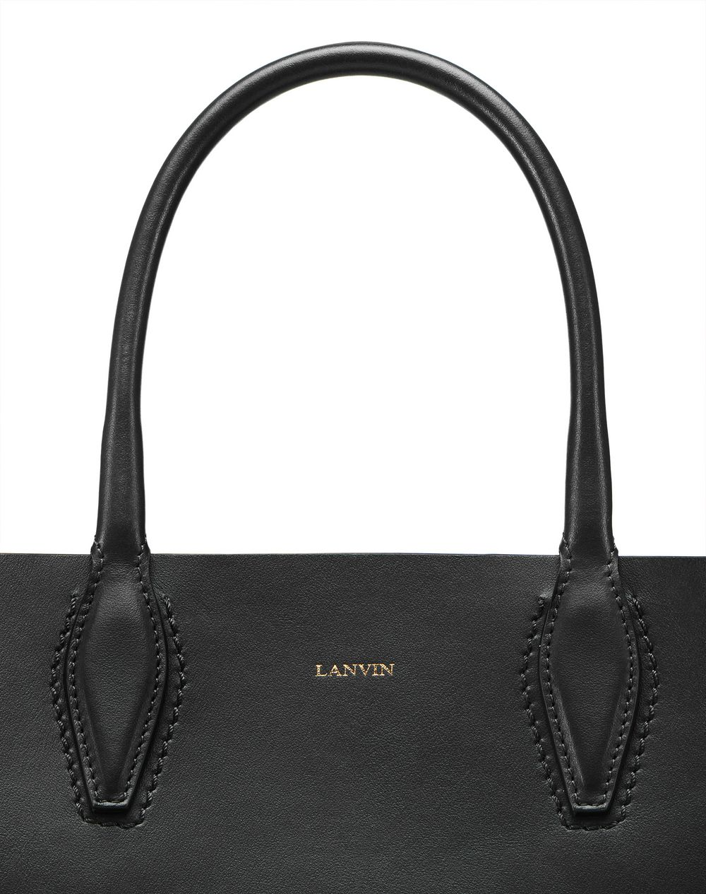 "MINI BLACK ""JOURNÉE"" BAG - Lanvin"