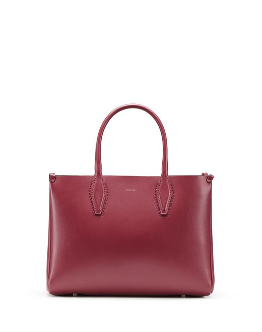 "BORSA ""JOURNÉE"" MINI COLOR GRANATO - Lanvin"