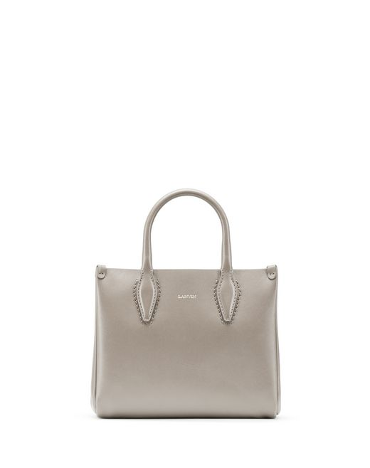 "NANO PUTTY-COLORED ""JOURNÉE"" BAG - Lanvin"