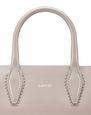 "LANVIN Shoulder bag Woman NANO PUTTY-COLORED ""JOURNÉE"" BAG f"