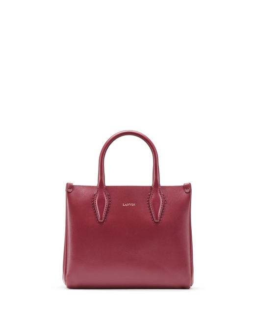 "BORSA ""JOURNÉE"" NANO COLOR GRANATO - Lanvin"