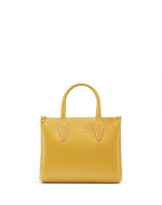 "BORSA ""JOURNÉE"" NANO COLOR ZAFFERANO - Lanvin"