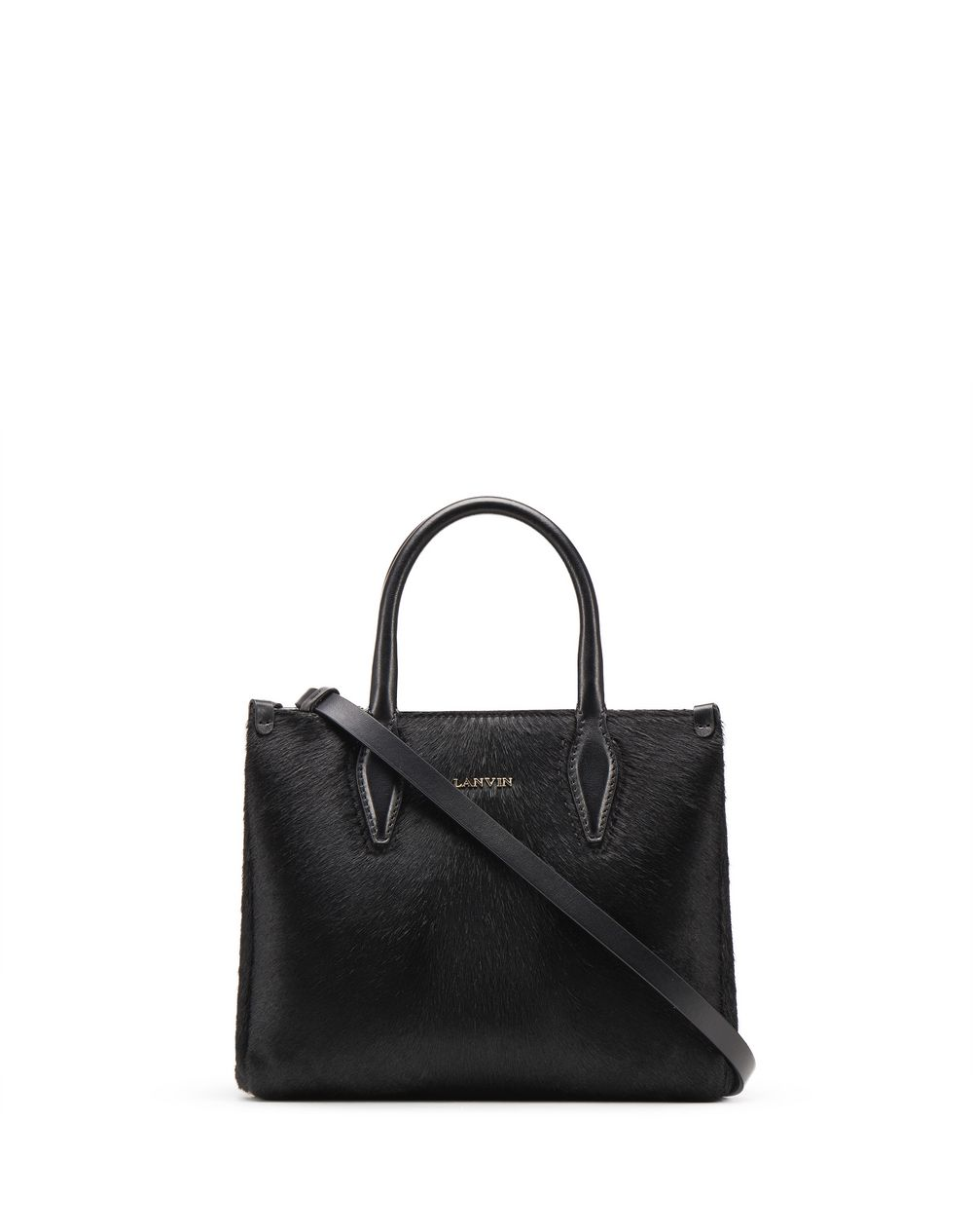 "NANO BLACK ""JOURNÉE"" BAG - Lanvin"