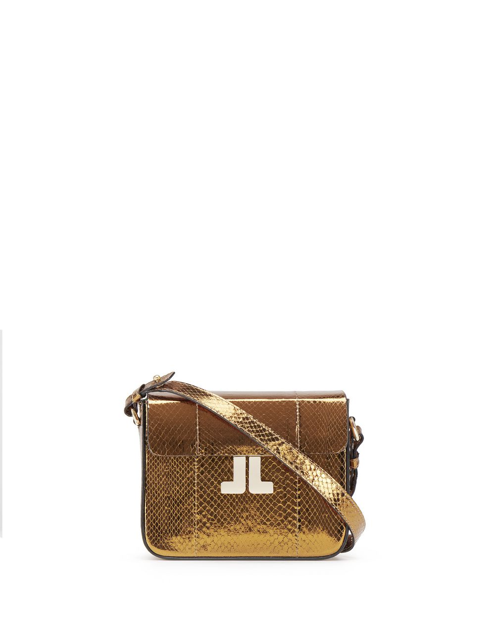 "MINI BRONZE ""JL"" BAG - Lanvin"