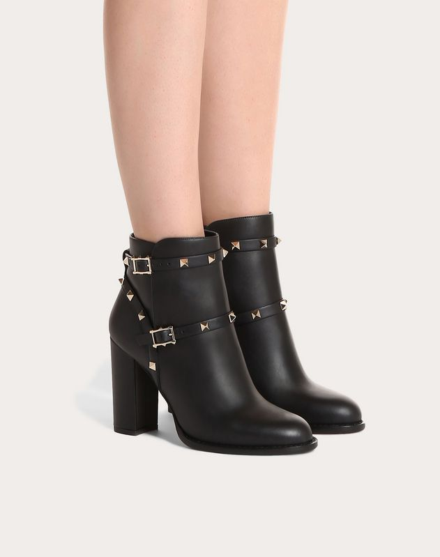 Rockstud ankle boot 100 mm