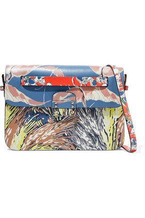 VALENTINO Mime printed leather shoulder bag
