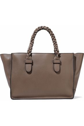 VALENTINO Textured-leather tote