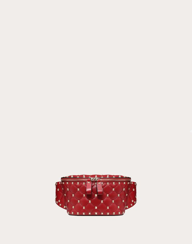 Rockstud Spike Nappa Leather Belt Bag