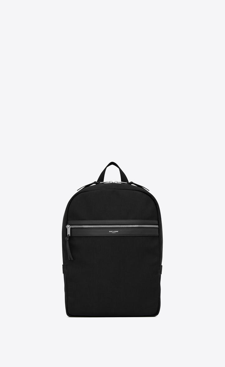 43c5baa7db Saint Laurent Laptop CITY Backpack In Canvas