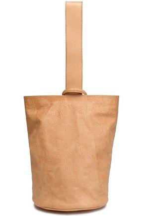 ZIMMERMANN Embossed leather bucket bag