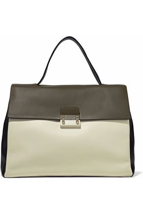 VALENTINO Mime color-block leather tote