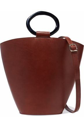 STAUD Seberg leather shoulder bag