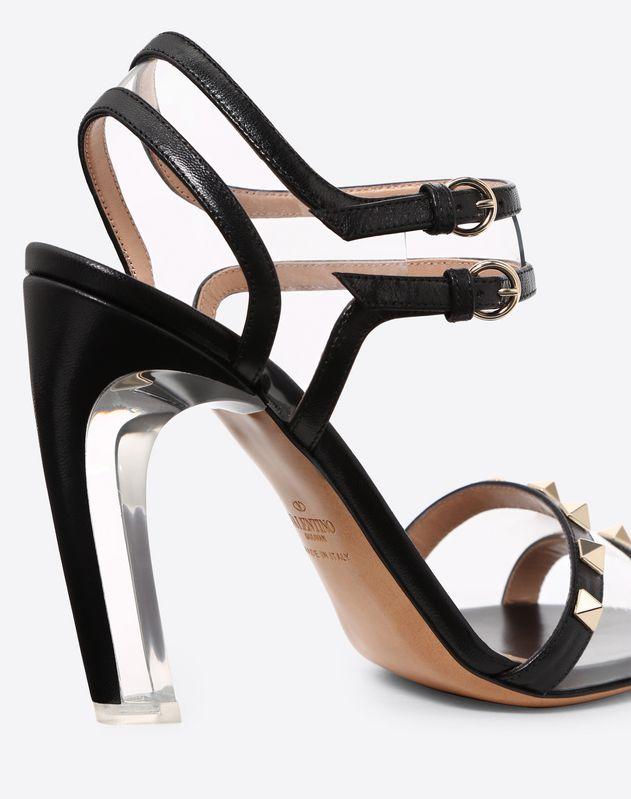 PVC Rockstud Sandal 105mm