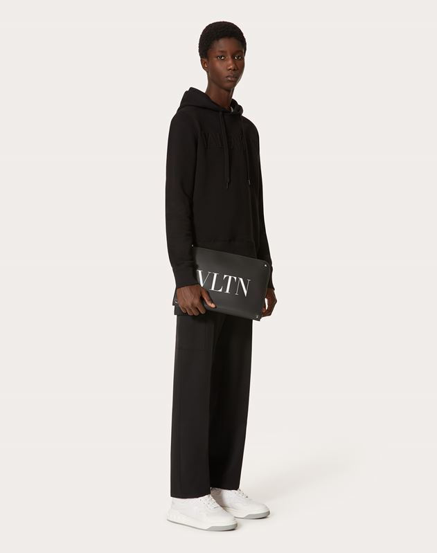 LEATHER VLTN BRIEFCASE
