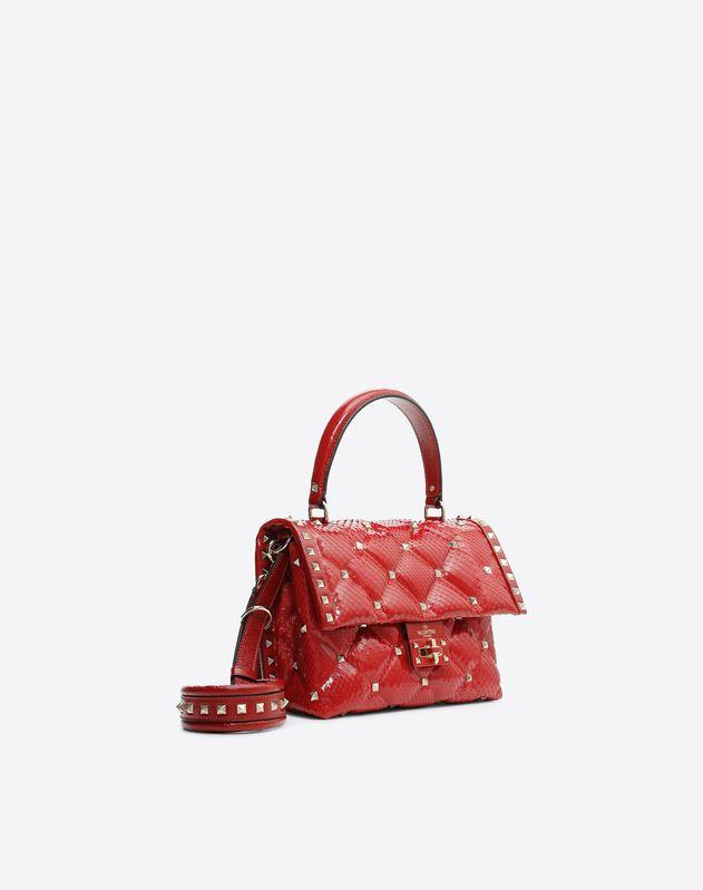 Python Candystud Top Handle Bag