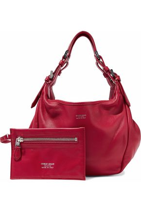 EMPORIO ARMANI Leather shoulder bag