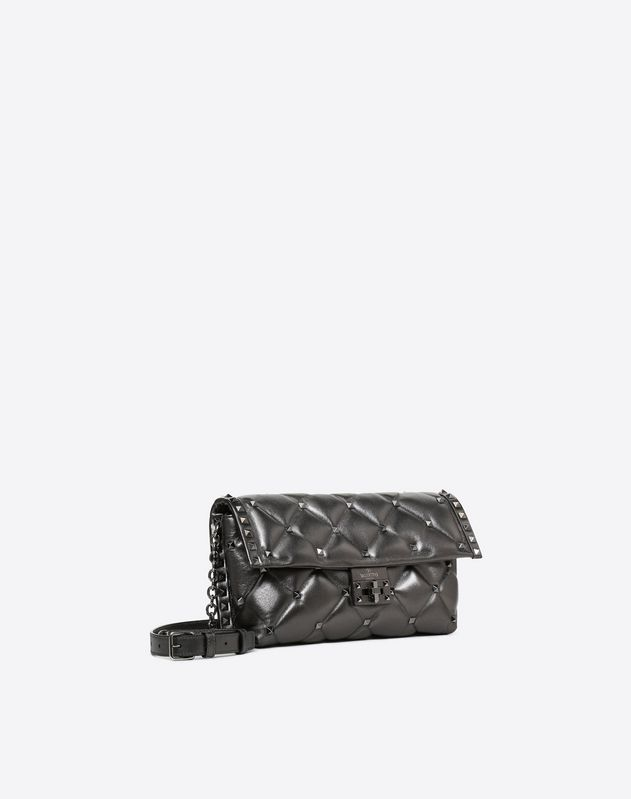 Metallic Candystud Shoulder Bag