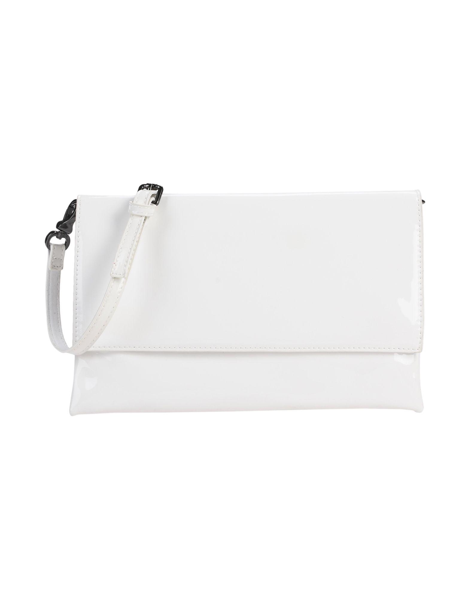 《期間限定セール中》DEUX LUX レディース ハンドバッグ ホワイト 紡績繊維 CLUTCH