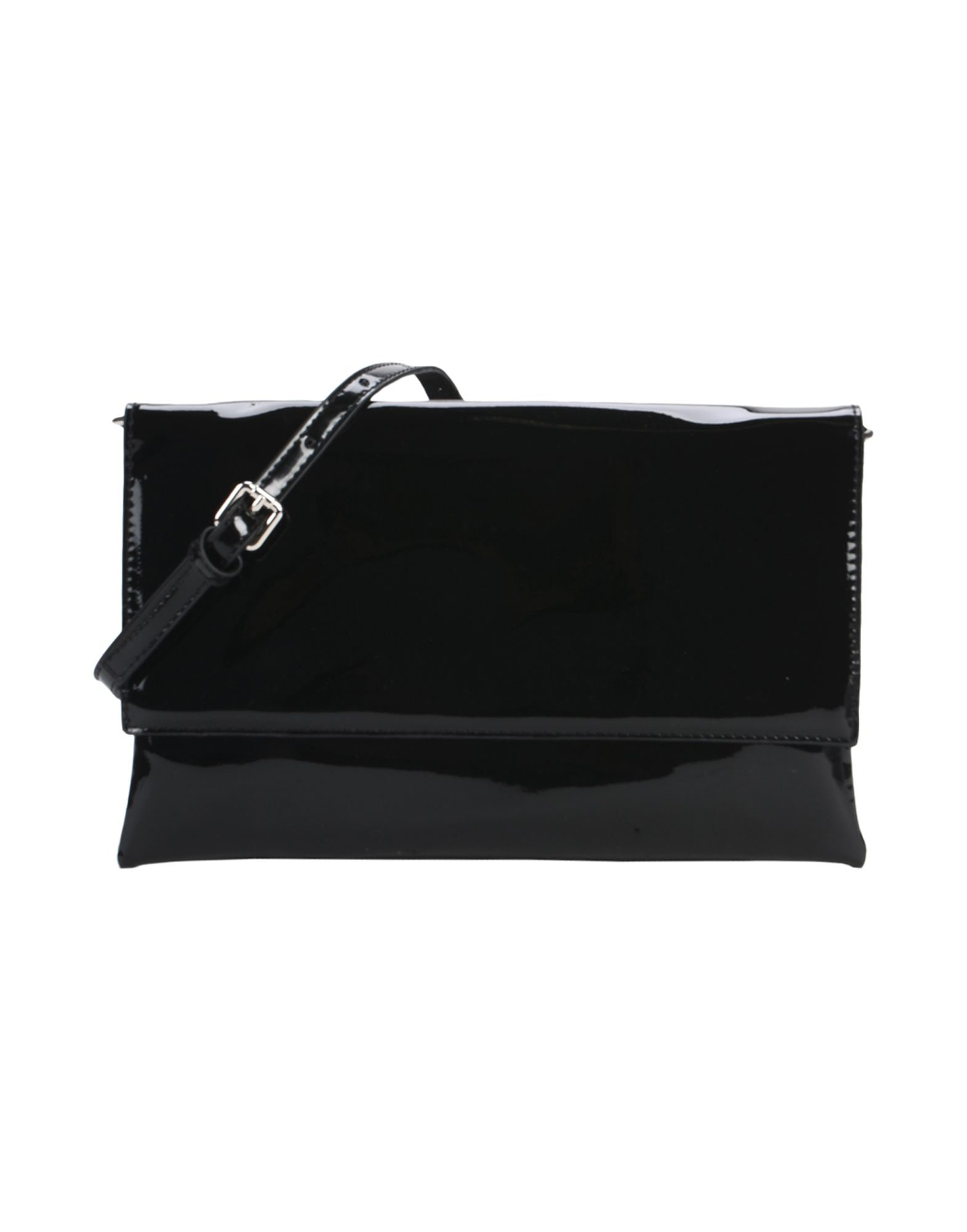 《期間限定セール中》DEUX LUX レディース ハンドバッグ ブラック 紡績繊維 CLUTCH