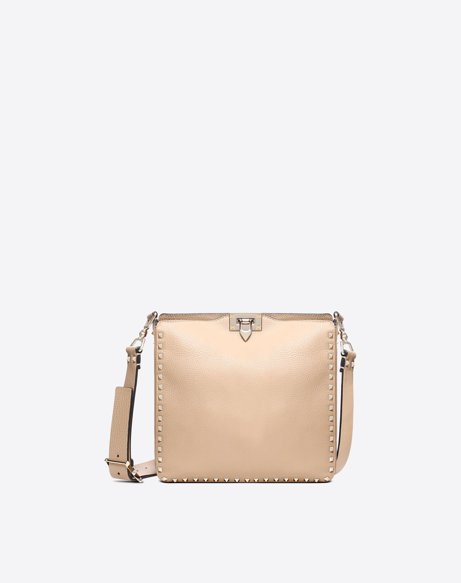 Small Rockstud Hobo Bag