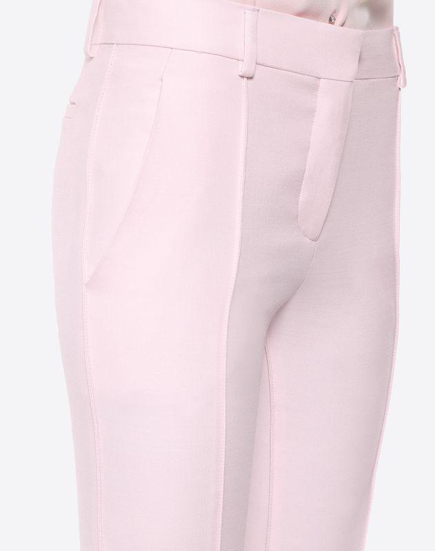 Pantalon en crêpe couture