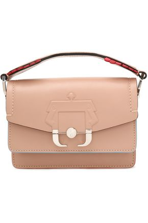 PAULA CADEMARTORI Embossed leather clutch