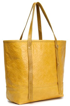 SEE BY CHLOÉ Bisou quilted textured-leather tote