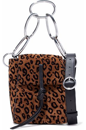 3.1 PHILLIP LIM Leigh leopard-print suede shoulder bag