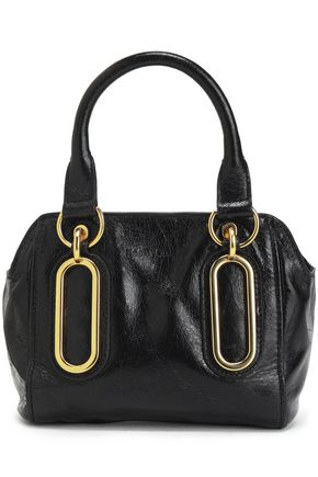 SEE BY CHLOÉ Paige mini glossed-leather shoulder bag