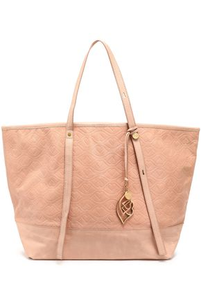 SEE BY CHLOÉ Bisou embossed leather tote