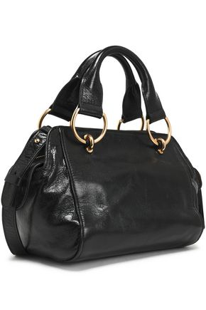 SEE BY CHLOÉ Paige brushed-leather shoulder bag