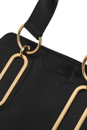 SEE BY CHLOÉ Paige medium washed-leather shoulder bag